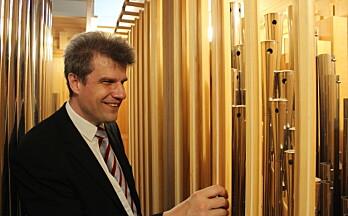 Møt den nye organisten i Vinger kirke