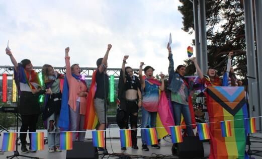 Kongsvinger Pride var en braksuksess: – Bare tenk hvor godt det blir neste år når vi får bedre tid til å planlegge