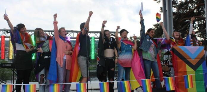 Slik var det på første Kongsvinger Pride