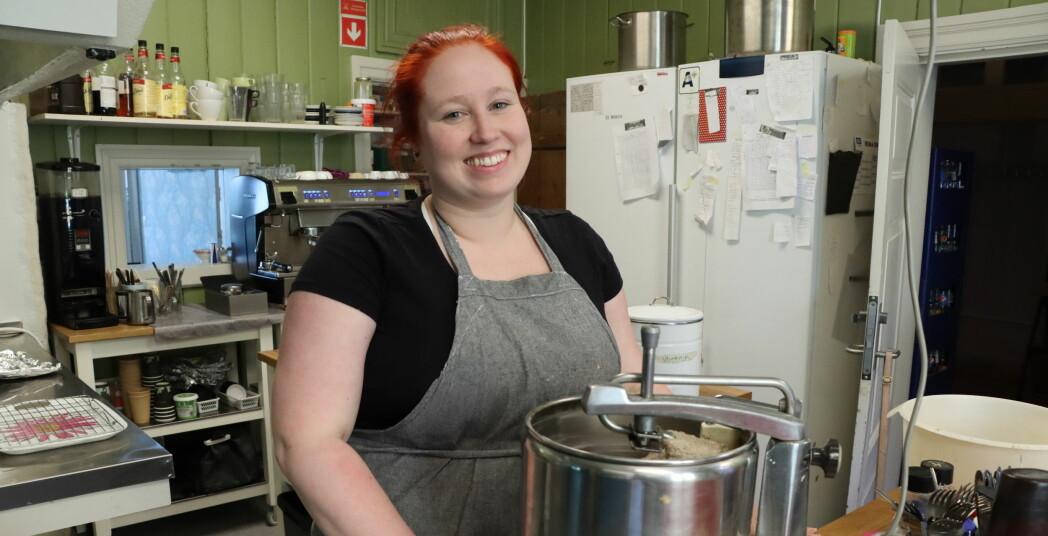 Marianne tok over kafé som 22-åring: – Aldri vært et tema å slutte