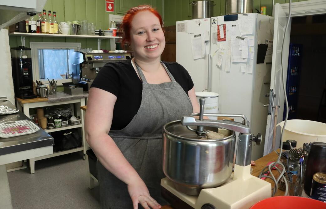Marianne Mæland var ikke mer enn 22 år gammel da hun tok over gamle Balchen. I en alder av nå 31 står hun støtt med begge bein i kafébransjen som daglig leder av Hos Marie.