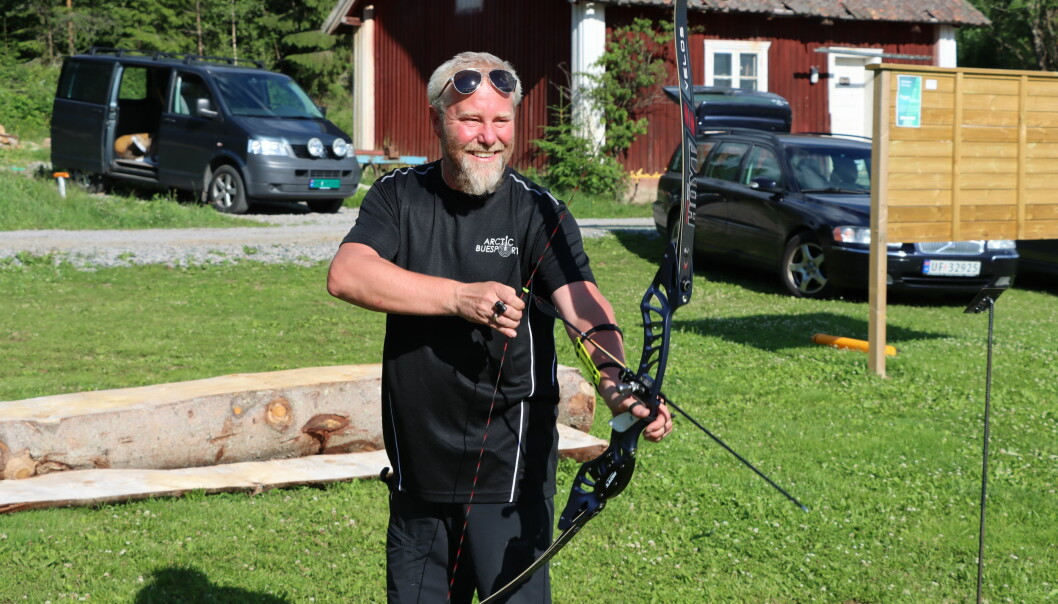 Lars Marius Sørlie gjør sine saker fra med pil og bue. På bare fire år har han blitt god nok for EM.