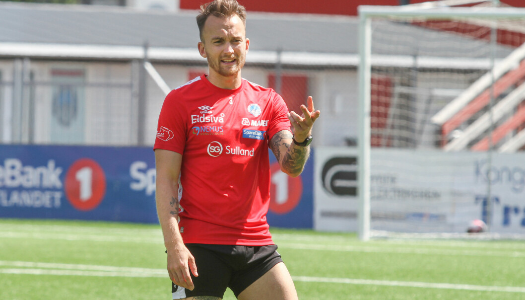 Victor Grodås har signert ny kontrakt.