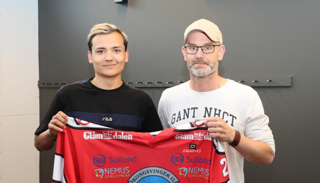 Målgarantisten Victor Zetterberg blir en viktig brikke for KIL Ishockey denne sesongen.