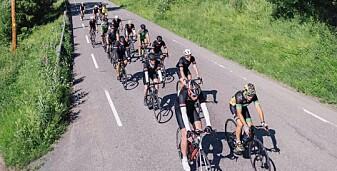 Pedalkraft syklet Norge på tvers