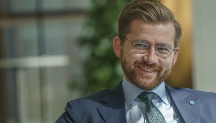 Norges klima- og miljøvernminister, Sveinung Rotevatn fra Venstre.