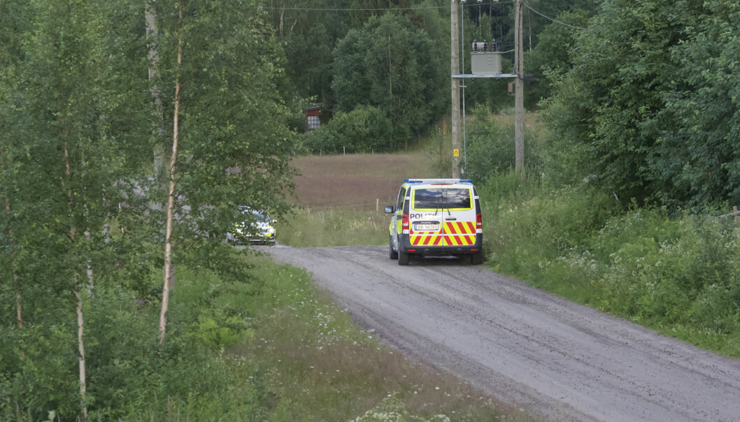 Politiet aksjonerte mot en adresse i Brandval tirsdag kveld. Dette er andre gang på under en uke.