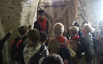 Barna ble tatt med tilbake til 1814