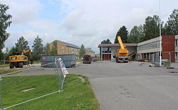 Utbyggelsen av Langeland skole er i gang