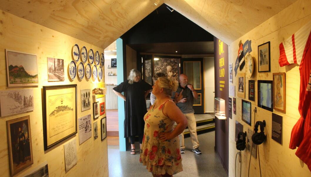 Dette er først og fremst en historisk utstilling om Erik Werenskiold og Kongsvinger mellom 1855 og 1905, fortalte avdelingsdirektør for Anno-museene i Kongsvingerregionen, Mona Pedersen.