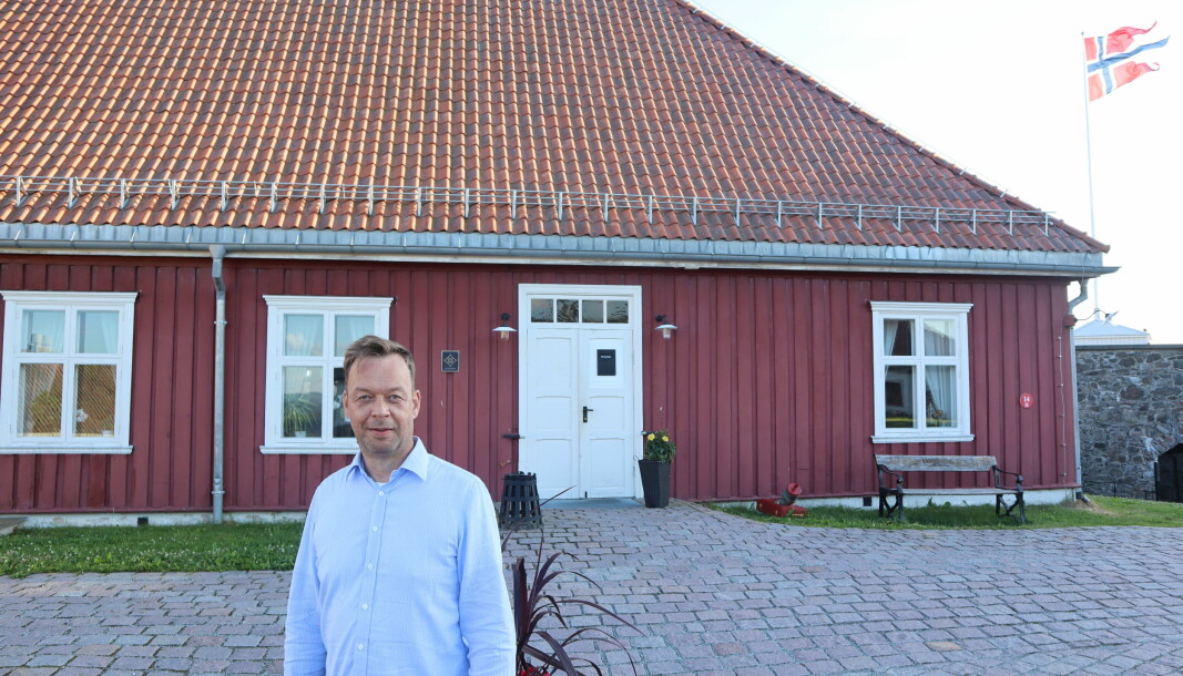 Kongsvinger-mannen Sverre Skaar tilbragte mye av barndommen oppe på festningen. Som sønn av en festningskommandant føler han seg priviligert over å ha fått vokse opp på en slik historisk viktig plass.