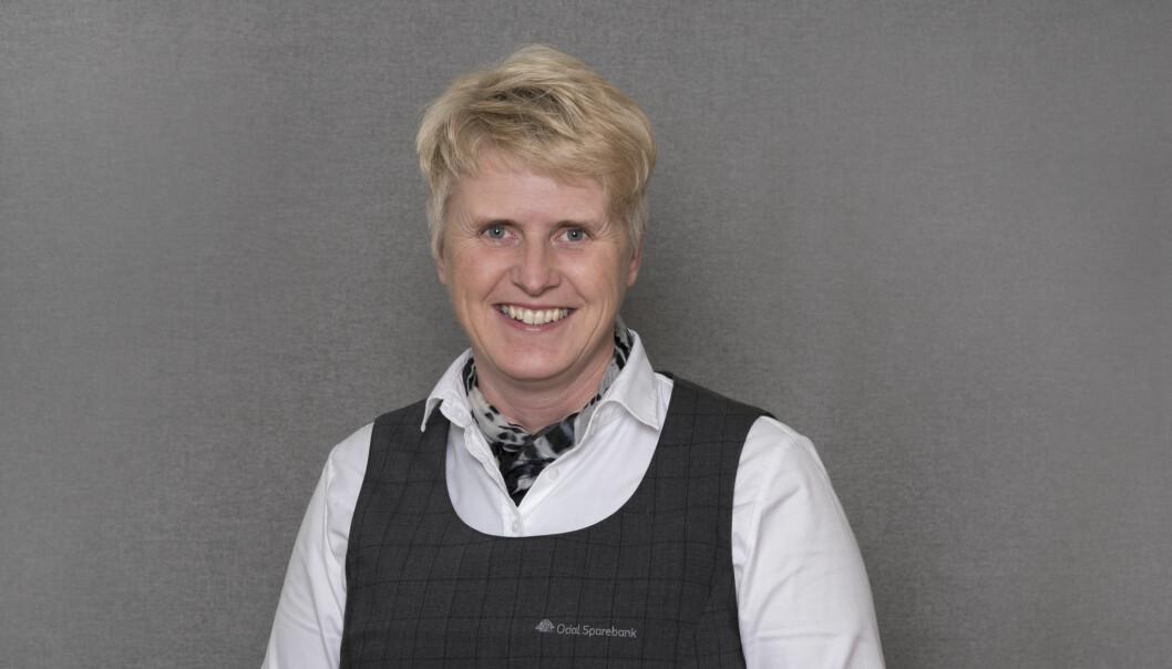 Lena Sundet Grinna er IT og prosjektansvarlig i Odal Sparebank. Hun advarer mot å gi andre tilgang til BankID'en din.