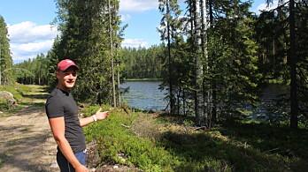 Ønsker å tilby idyllisk og privat bobilplass i skogen