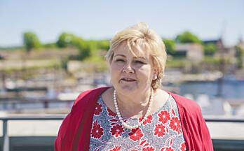 Vaksinejubel fra Solberg: Positive tegn til videre gjenåpning