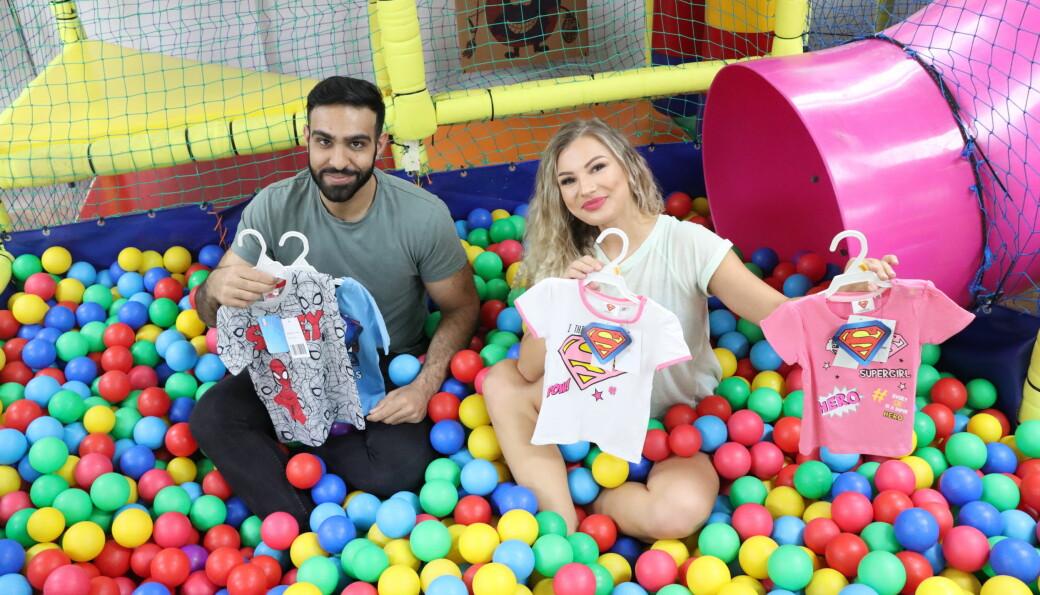 Leker og klær til barn er noe Sultan Bhatti og Weronika Sobocinska satser på i Kongsvinger. I august åpner Lillesjefen i Gågata.