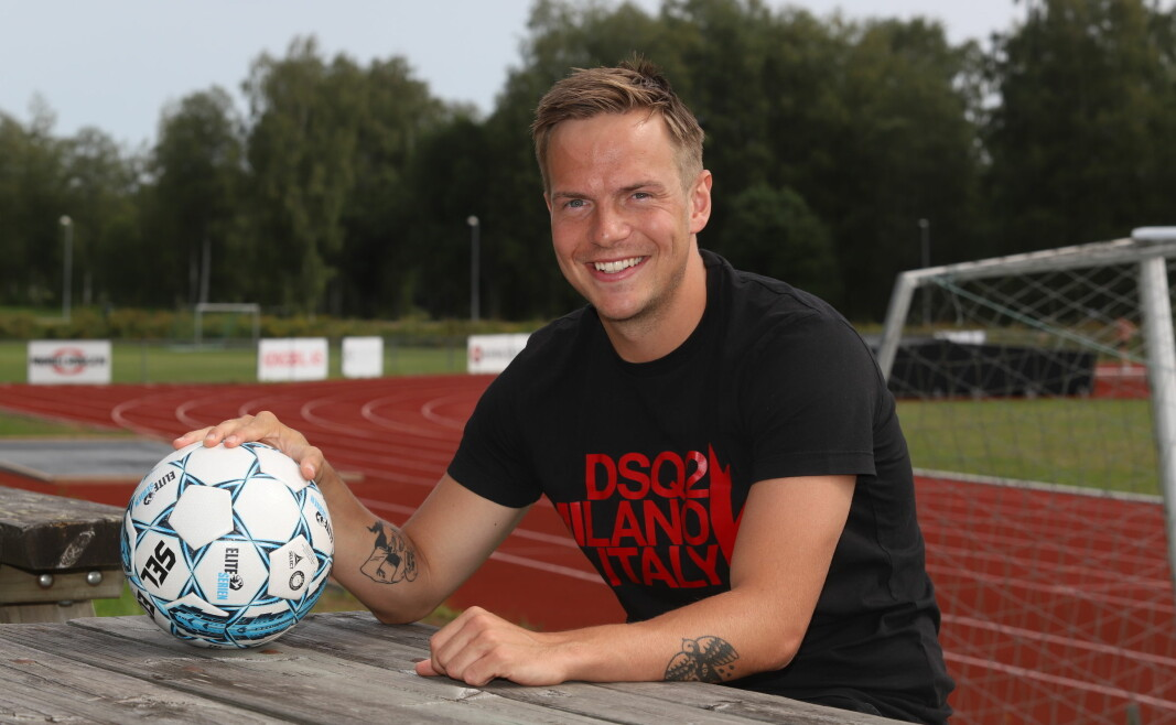 Andreas Lundgren kunne ikke si nei når den svenske trenerlegenden Sven-Gøran