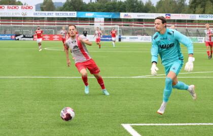 Endelig fikk Andreas debutere på Gjemselund: – Jeg er ingen tilskuer
