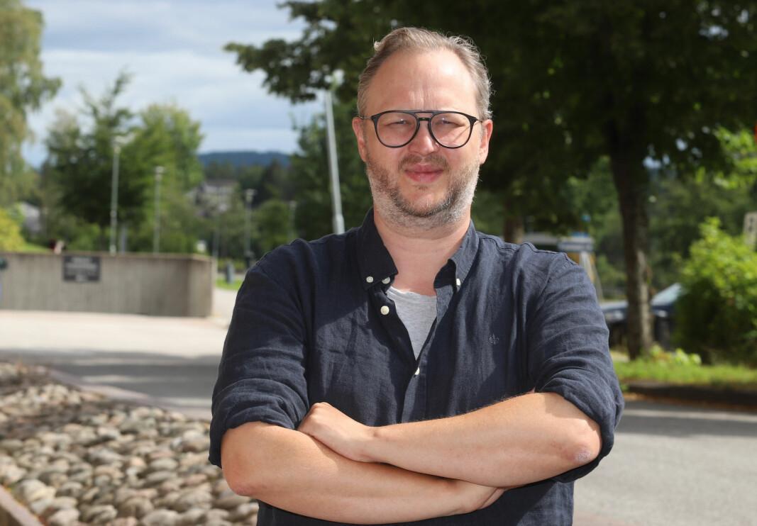 Martin Skogrand er den nye SLT-kontakten i Kongsvinger.