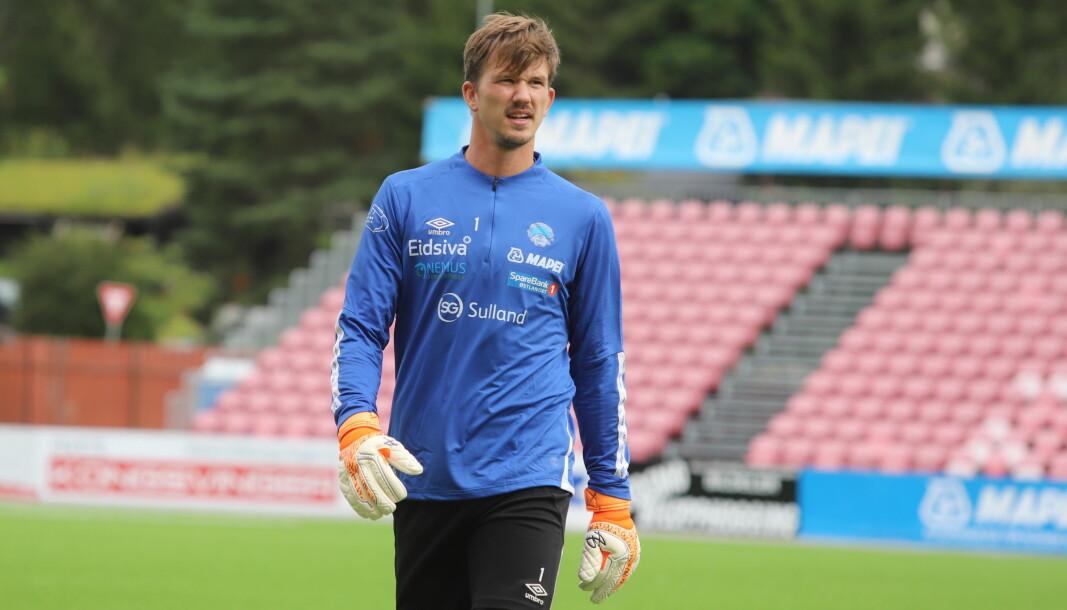 August Strömberg, med fortid fra det svenske U21-landslaget og spill i Allsvenskan, er klar for KIL. – Jeg spiller mot Hødd hvis trenerne vil, sier han.
