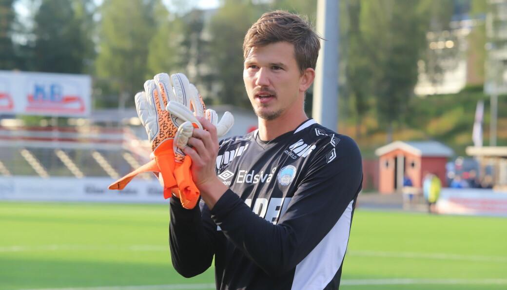 August Strömberg bruke én dag på å bli KILs nye ener på laget.