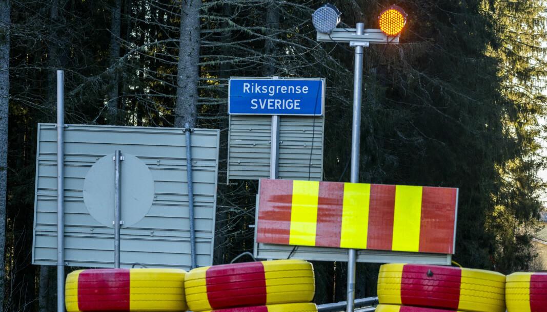 Langt ifra alle grenseoverganger er åpne som følge av koronapandemien.