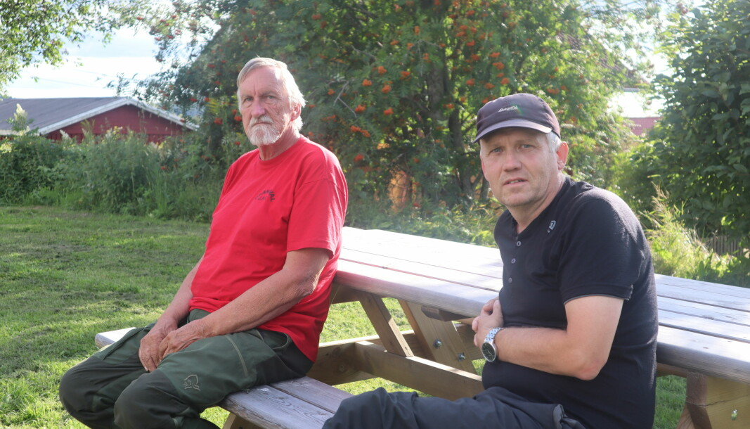 Leder i Brandval Jeger og fiskeforening Lennart Høgberg og leder i jaktutvalget i Brandval Jeger og fiskeforening Roy Høgberget er to av foreningens mange ivrige jegere som ser fram til årets jaktsesong