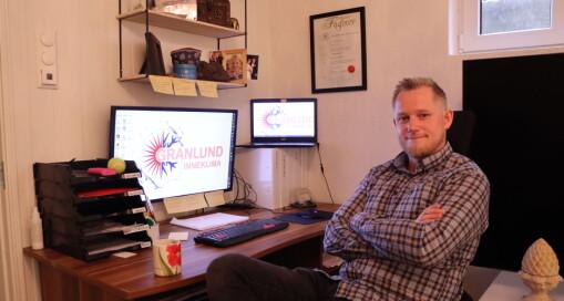 Ble arbeidsledig i sommer – så startet Lars Thomas opp egen bedrift hjemmefra