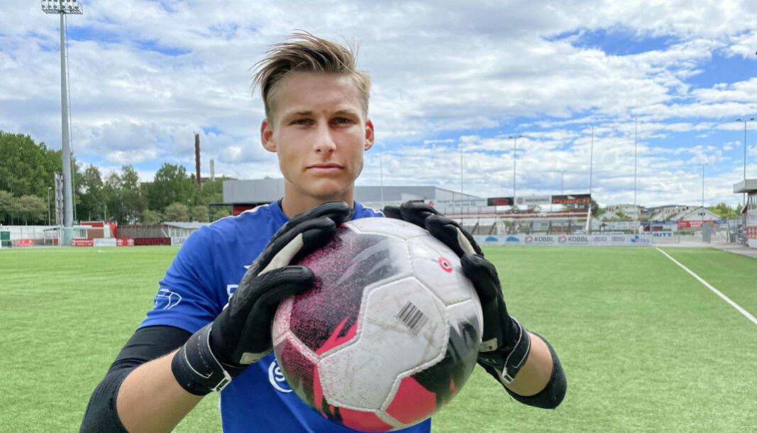 Andreas Smedplass lånes ut til Notodden ut sesongen. Der vil den talentfulle keeperen få verdifull erfaring.
