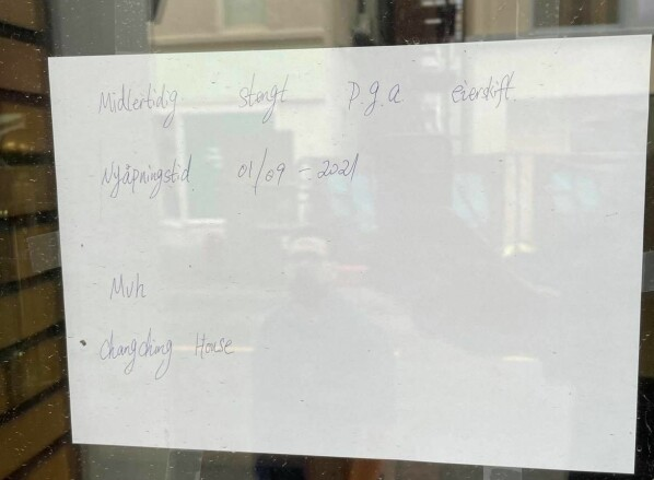 Nye eiere på kinarestauranten – holder midlertidig stengt