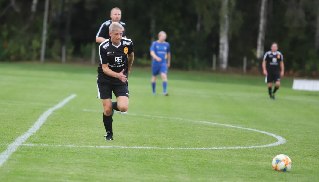 Steinar Roland brukte bare fem minutter på å score årets første mål.