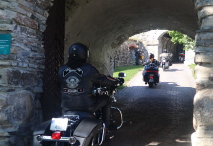 Harley Davidson inntok festningen