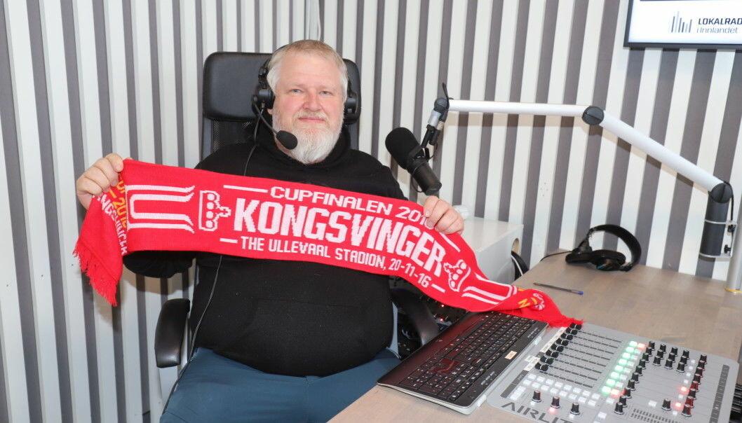 Pål Erik Berntsen var på langt nær så avslappet som på bildet her da KIL fikk straffe på overtid mot Vålerenga 2 mandag. Hør lydklippet i saken.