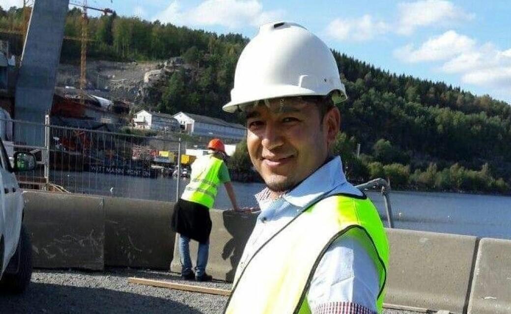 Elyas Johansen har tatt norsk navn og alle muligheter han har fått i Norge. Bildet er tatt fra studietiden.