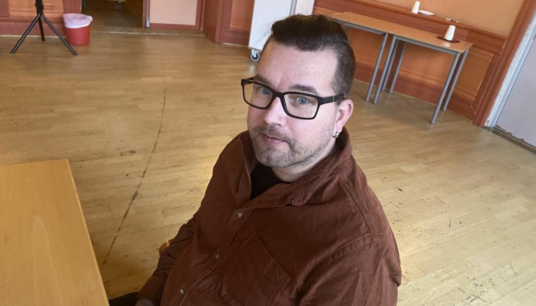 Tommy Smedtorp fra Senterpartiet gikk raskt ut og ga beskjed om at han ville stemme imot administrasjonens nei til boligbygging i Lia.