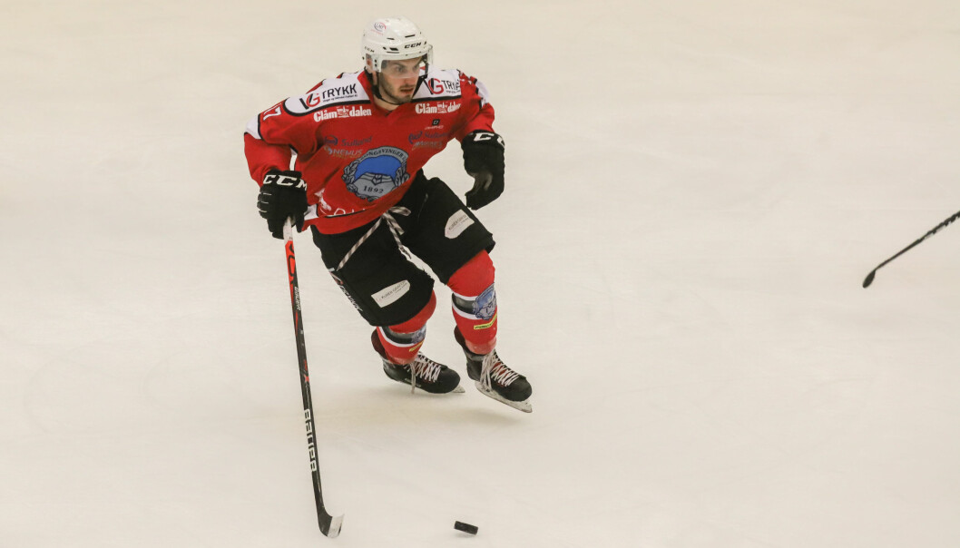 Tom Ivar Hesbråten var i scoringshumør mot Ski, og noterte seg for tilsammen seks målpoeng da Kongsvinger vant 8-2.