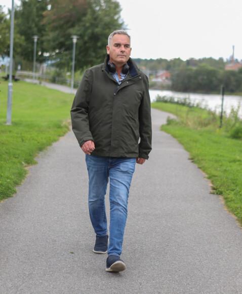 Brynjar Fredheim fant ut at det var godt for både den psykiske og fysiske helsa å gå turer mens han ventet på ny nyre.