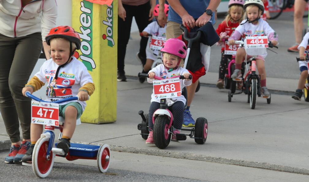 Se bildene fra Tour of Norway for kids