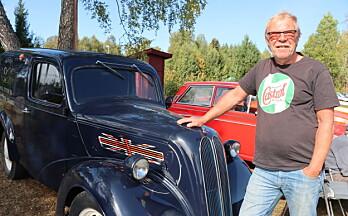 Her må man ikke ha amerikansk bil – denne briten fyller snart 70 år