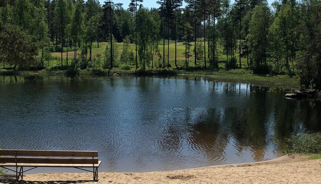 Blir det en siste badetur til for eksempel Lierfløyta?