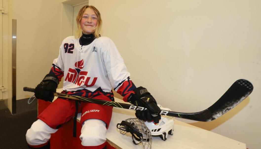 Med sine 14 år er Kajsa Bråten yngst på Hasle/Lørens damelag som har som mål å vinne kongepokalen.