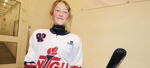 Kajsa (14) vil vinne kongepokal