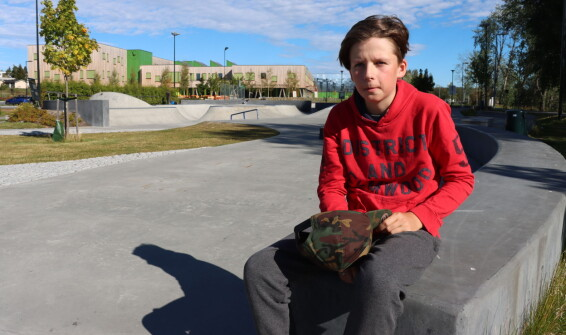 Tor Isak (13) bruker mye av tiden sin i skateparken – nå ber han kommunen om én ting