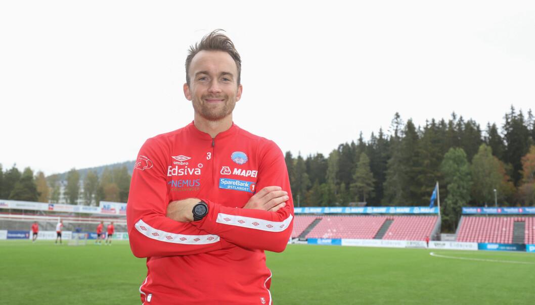 I 2012 ble Victor Grodås cupmester med Hødd. Søndag vil han sende dem ut av kampen om direkte opprykk.