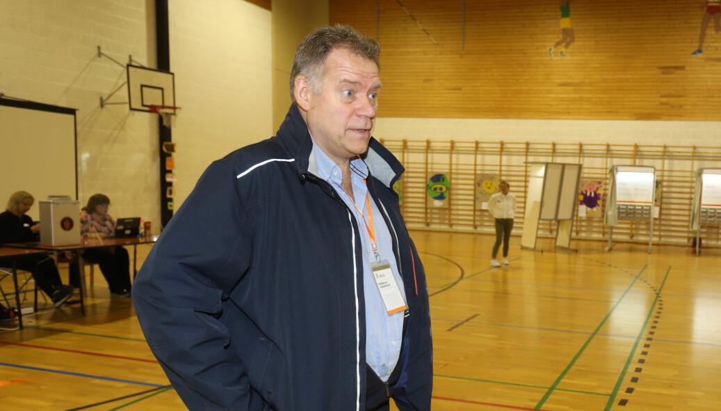 Svein Olav Lund, som mandag var opptatt med å organisere valget i Holthallen, er blant dem som ønsker å bli ny kultursjef i Kongsvinger.