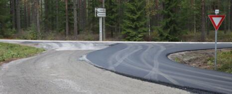 Her kommer asfalten tilbake