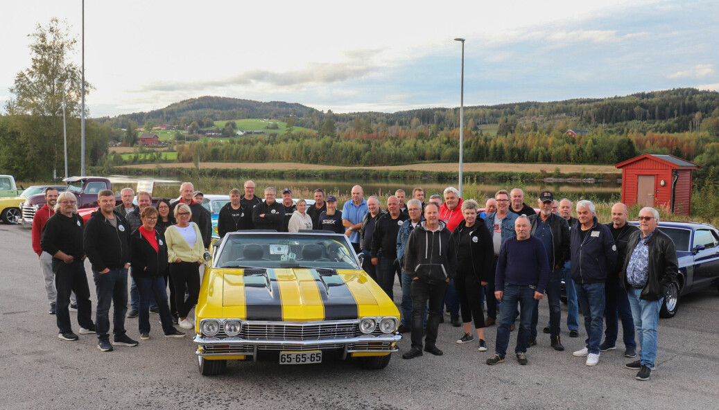 Klubbkveldene til Amcar Glåmdal er populære treff for dem som er interessert i amerikanske biler.