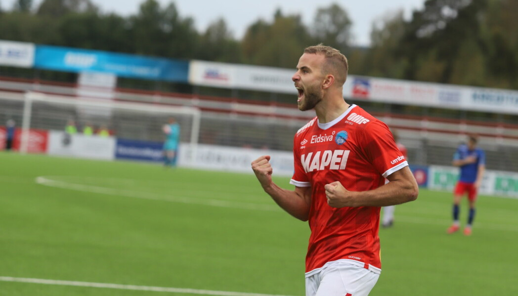 Brage Berg Pedersen fikk tillit fra start og scoret ett mål da KIL vant 5-0 over Senja.