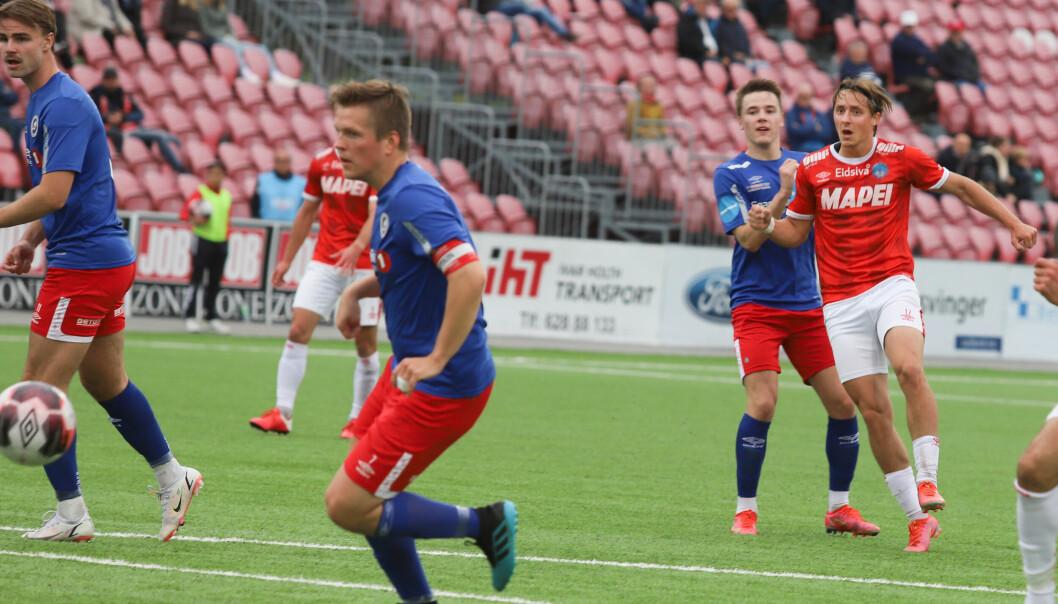 I den formen Mathias Gjerstrøm er nå, så er han egentlig for god for å spille i 2. divisjon.