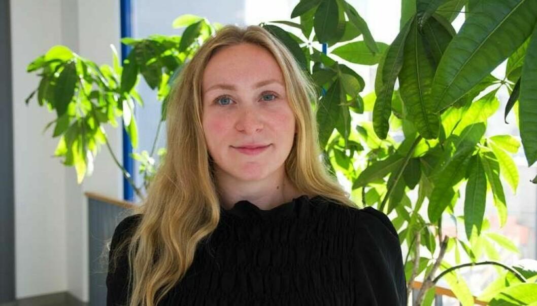 Kristine Fagerheim har begynt på Mapei.