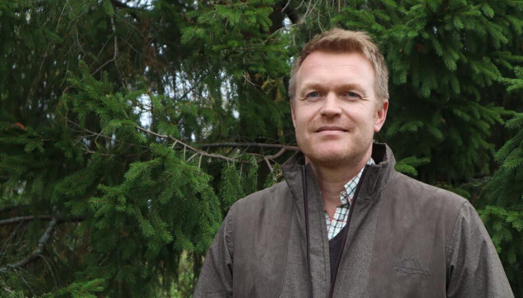 Viltforvalter Fredrik Sunde i Kongsvinger kommune har sammen med lokale grunneiere jobbet i mange måneder med årets elg og hjortekvoter